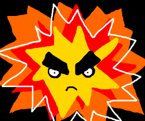 Angry Explosion