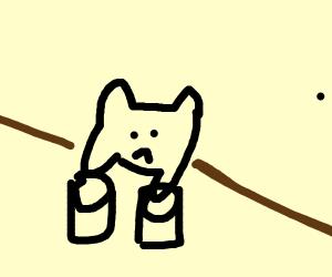 Bongo cat is sad