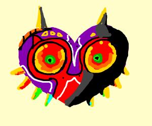 Creepy majora's mask