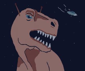 Dinosaur alien