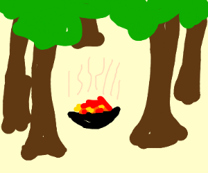 Hot Dish in the Forest