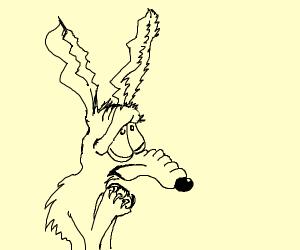 Typical Wile E Coyote failure.