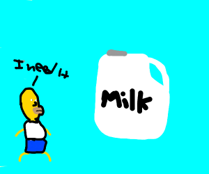 Bart needs milk