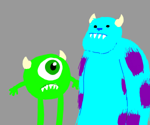 Mike wizouski and Sulley