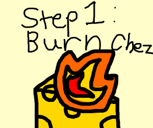 Step by step on how to burn chez