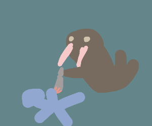 Walrus murdering someone
