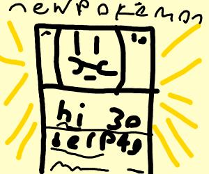 New Pokemon, It's a card.