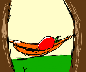 Newton in a Hammock - Drawception