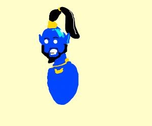 Genie from new Aladdin movie