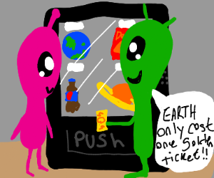 A golden ticket for Earth