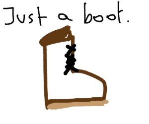 just a boot