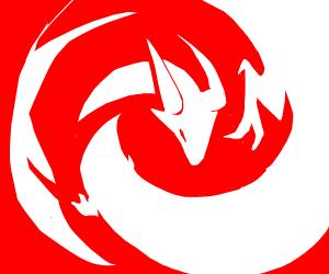 A White Dragon
