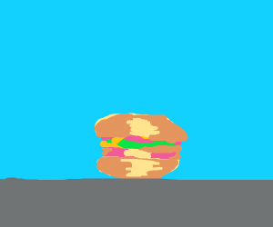 This is a tasty burger