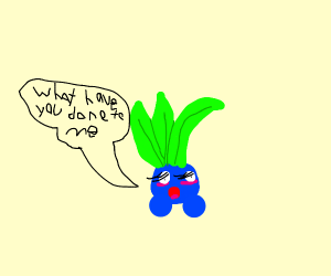 Oddish gets a makeover and it doesn't like it