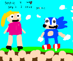 barbie wants to date sonic