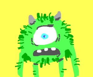 hairy Mike Wazowski