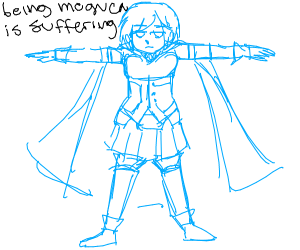 Your fav character T-posing
