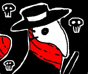 Worm plague doctor