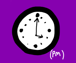 IT'S 4PM.