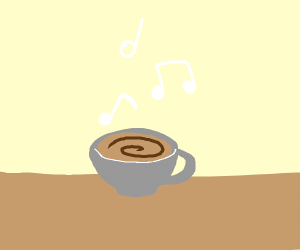 Musical coffee