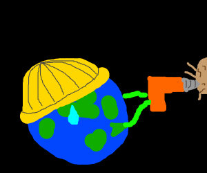 drilling earth