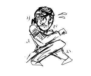 Scared Okuyasu