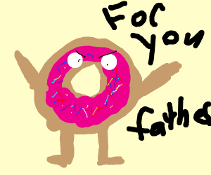 Donut goes on a revenge-fuelled rampage