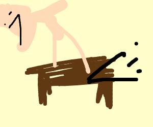 Retaliating on a talking table
