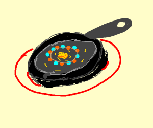 Cooking with a Necklace