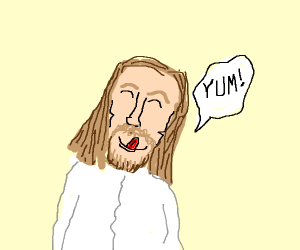 jesus says yum