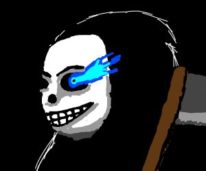 Grim reaper sans