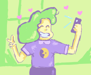 Sadie (SU) Taking selfie