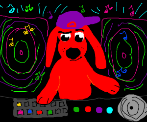 Clifford the Big Red DJ