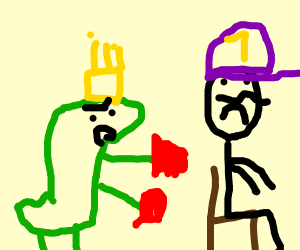 King K. Rool punishes waluigi