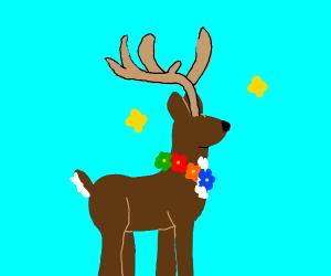 Spring Deer with Antlers (soo cool)