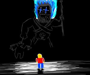 Hades vs LEGO man