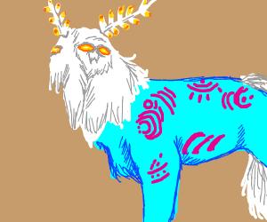 A hairy beast god thing? Botw