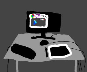 Streaming drawception