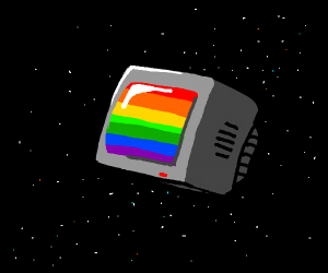rainbow space tv