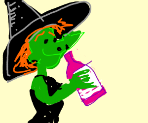 Witch from vinesauce