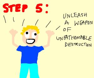 Step 4: Avenge Pearl Harbor