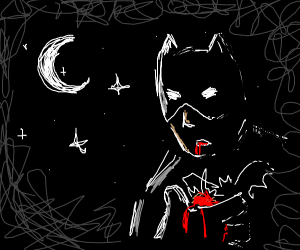 batman dies at night