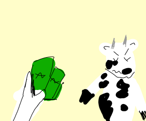 Cow doesnt want your money