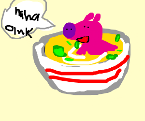 Pig in my Soup