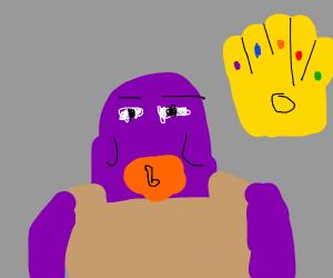 Thanos ate my cat