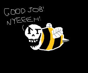 """Good job,"" says Papyrus025 the hitchhiking b"