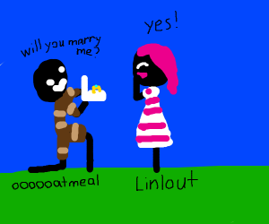 Furret proposes to shiny furret