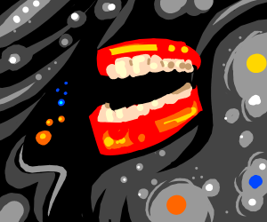 A dentures in space