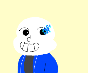 Sans is giving you a good time