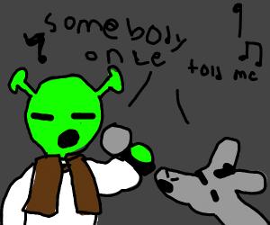 Shrek and Donkey karaoke